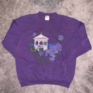 Vintage Purple Crewneck